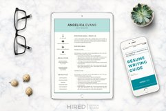 Modern Resume Template and Cover Letter. Fully editable CV Product Image 14