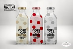 Cork & Cap Bottle Packaging MockUps Product Image 5