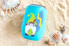 Sublimation Designs For T Shirts Summer Gnomes   Beach Gnome Product Image 5