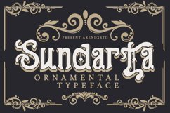 Sundarta   Vintage Typeface Product Image 1