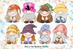 Gnome clipart set, gnome png, sublimaion, gnome sticker Product Image 5