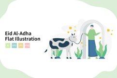Eid Al-Adha Qurban Flat Vector Illustration Product Image 1