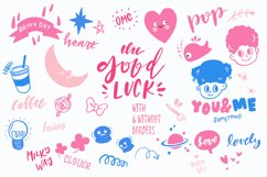 Good Luck - Retro Pop Stickers Product Image 3