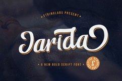 Jarida - Bold Script Font Product Image 1