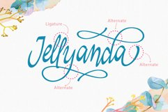 Jellyanda Script Product Image 4