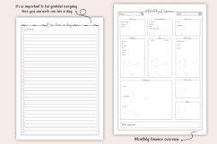 Printable Bullet Journal - Planner Bundle - Planner Kit, PDF Product Image 4