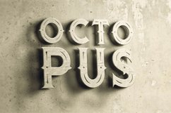Octopus - Vintage Style Font Product Image 4