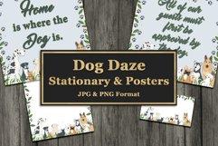 Dog Daze Printable Stationary and Posters Product Image 1