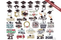 Graduation SVG Monogram Hat Cap in SVG, DXF, PNG, EPS, JPEG Product Image 1