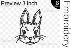 Bunny - Embroidery Files - 1471e Product Image 2