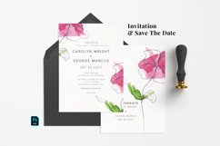 Abstract Flower Wedding Suite Product Image 2