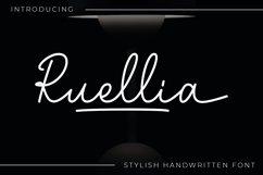 Ruellia - Signature Font Product Image 1