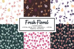 Summer Fresh Floral Seamless Pattern Product Image 1
