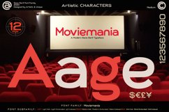 Moviemania - Sans Serif font Family Product Image 6