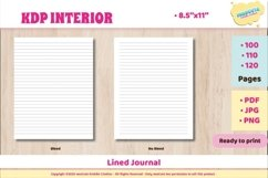KDP interior Lined Journal Product Image 1