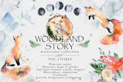 Woodland story Vol.2 Foxes Product Image 1