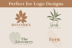 Hand-Drawn Botanical Silhouette Illustrations Product Image 4