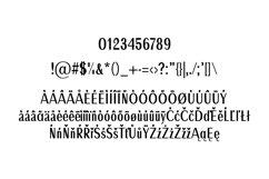 Ackley Beautiful Sans Serif Typeface Product Image 5