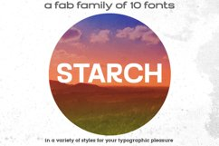 STARCH font family Product Image 1