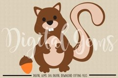 Squirrel SVG / EPS / DXF files Product Image 2