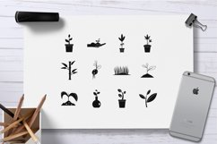 Plant icon set, simple style Product Image 2