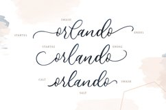 Athalia - Modern Calligraphy Script Product Image 3