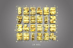 3D Gold Text Effect Product Image 3