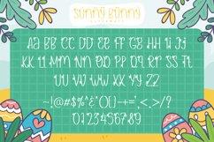 Web Font - Sunny Bunny Product Image 3
