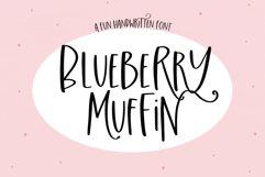 Blueberry Muffin - A Fun Handwritten Font Product Image 1