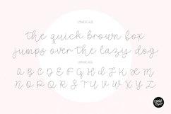"""""""COTTAGE SKETCH"""" Sketch Font - Single Line/Hairline Font Product Image 2"""