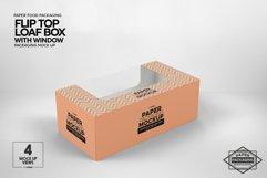 Flip Top Loaf Box Packaging Mockup Product Image 4