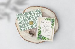 Midori Green Leaf Watercolor Set, Hand-Painted Collection Product Image 5