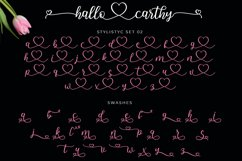 Hallo Carthy | A Lovely Calligraphy Font Product Image 5