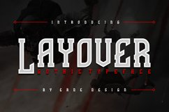 Layover - Typeface Product Image 1