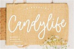 Candylife Modern Monoline Calligraphy Font Product Image 1