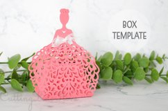 Wedding favor boxes, Gift box template Product Image 1