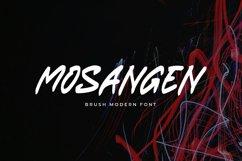 Mosangen - Brush Modern Font Product Image 1