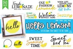 Hello Lemon - Lemon Design Bundle Product Image 1