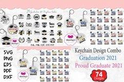 Graduation Keychain Combo|Proud Graduate 2021 Keychain Product Image 1