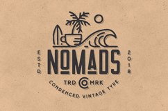 Nomads -The Farmer Original Typeface Product Image 2