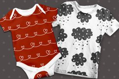 Valentines Day Seamless Pattern Set. Product Image 4