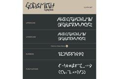 Godsmith Typeface Product Image 6