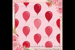 100 Seamless Balloon Pattern Kid Birthday Digital Papers Product Image 3