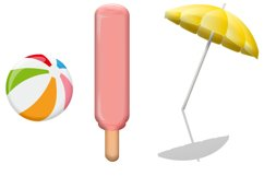 Summer Time Clip Art Product Image 4