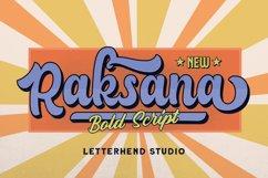 Raksana - Retro Bold Script Product Image 1