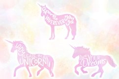 Unicorn Quotes SVG Cut Files Pack Product Image 3
