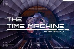 The Time Machine Font Family Product Image 1