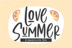 Love Summer | Handwritten Font Product Image 1