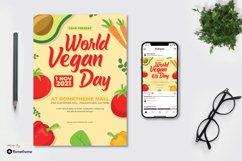 World Vegan Day - Flyer & Instagram Post KF Product Image 1