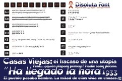 Disoluta font Product Image 2
